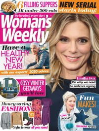 December 31, 2019 issue of Woman's Weekly