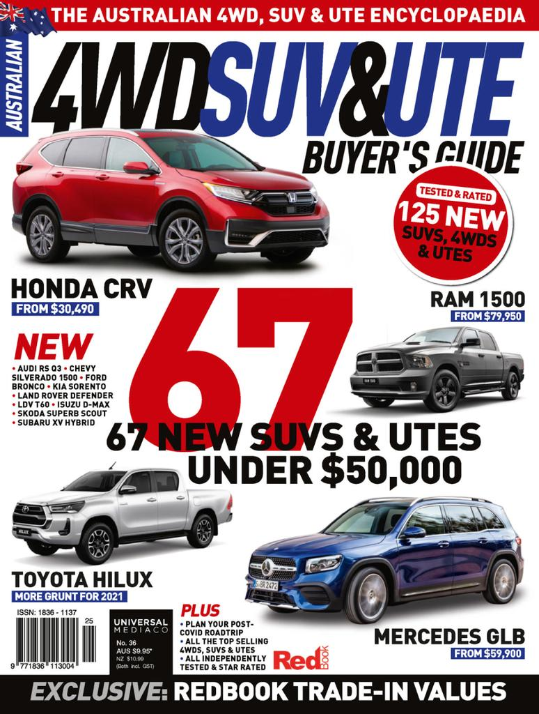 Australian 4WD & SUV Buyer's Guide