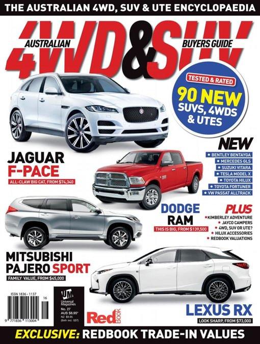 Australian 4WD & SUV Buyer's Guide