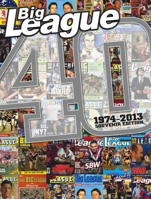 Big League magazine - 40 years special