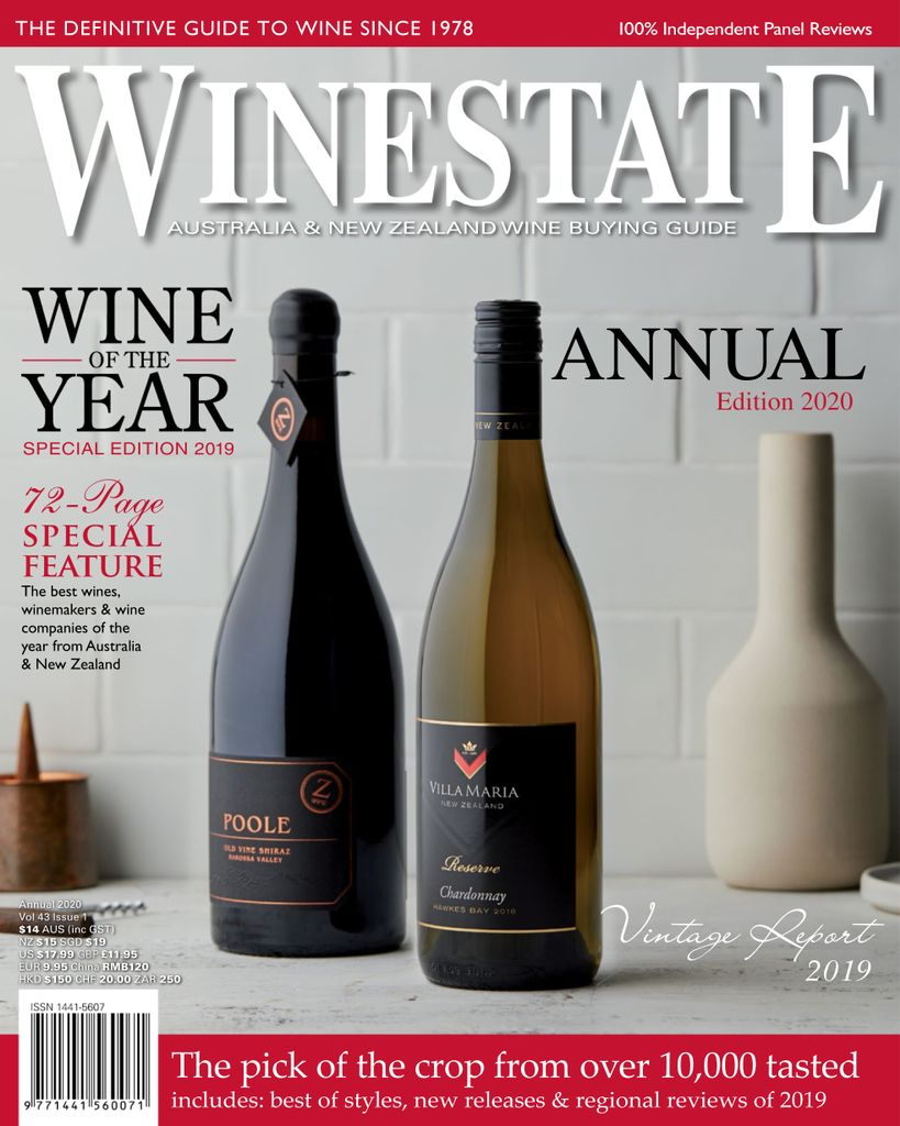 Annual Wine of the Year Awards Issue JAN FEB 2020