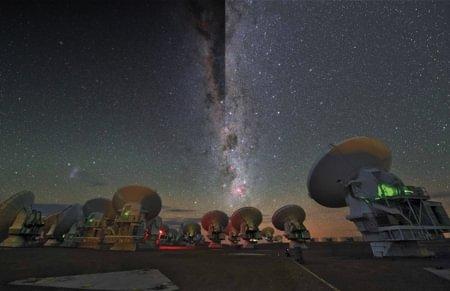 Interferencias cósmicas