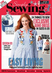 October 31, 2018 issue of Simply Sewing