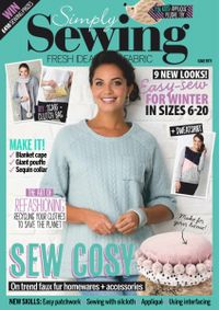 February 28, 2019 issue of Simply Sewing