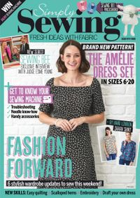 May 31, 2019 issue of Simply Sewing