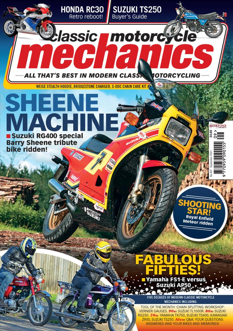Mortons_Classic Motorcycle Mechanics - Subscription