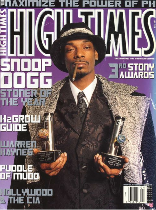 High Times- Stoner of the Year: Snoop Dogg
