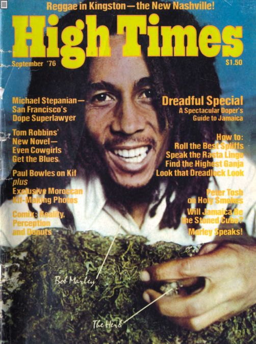 High Times-Bob Marley Edition