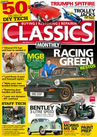 Back issues of Classics Monthly
