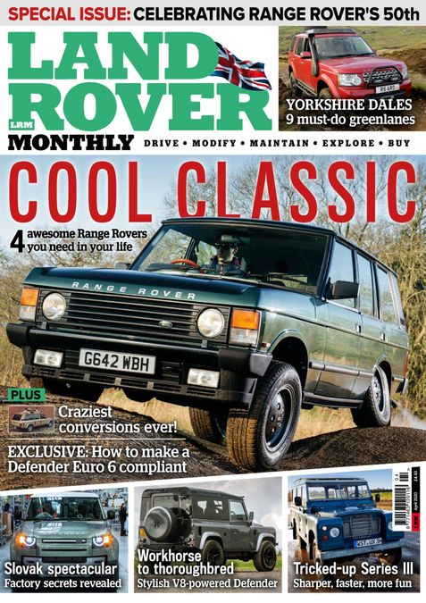 Land Rover Monthly