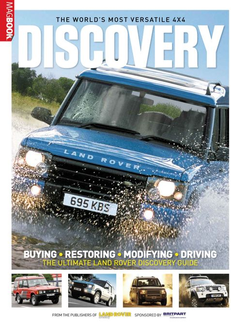 Landrover Discovery MagBook