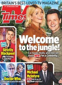 November 16, 2018 issue of TV Times