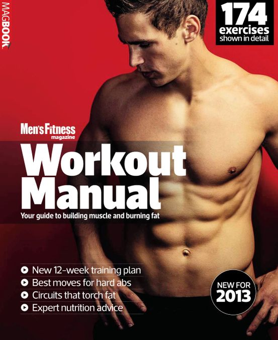 Mens Fitness Workout Manual 2013