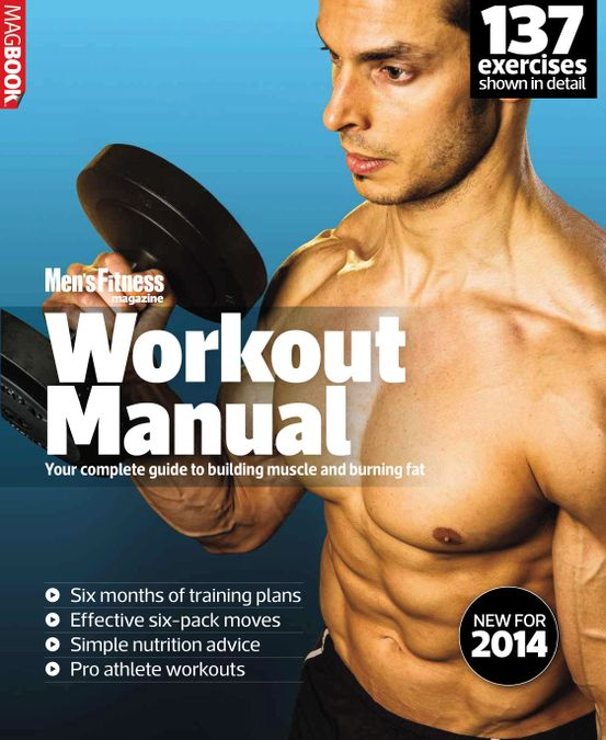 Mens Fitness Workout Manual 2014