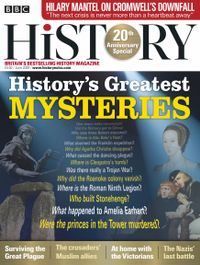June 01, 2020 issue of BBC History Magazine