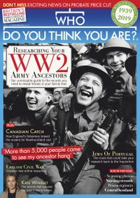 August 31, 2019 issue of Who Do You Think You Are?