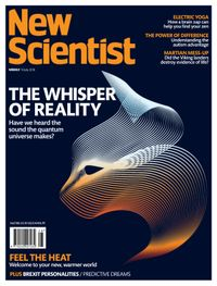 July 13, 2018 issue of New Scientist International Edition