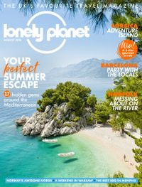 July 31, 2018 issue of Lonely Planet Traveller