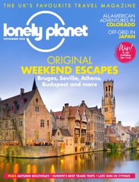 October 31, 2018 issue of Lonely Planet Traveller