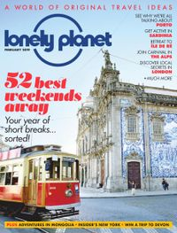 January 31, 2019 issue of Lonely Planet Traveller
