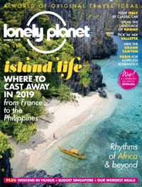 February 28, 2019 issue of Lonely Planet Traveller