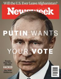 October 25, 2018 issue of Newsweek
