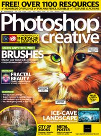 December 31, 2018 issue of Photoshop Creative