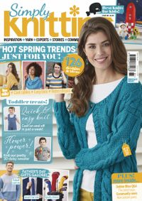 May 31, 2019 issue of Simply Knitting