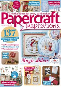 October 31, 2018 issue of PaperCraft Inspirations