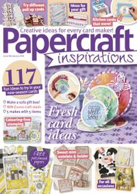 December 31, 2018 issue of PaperCraft Inspirations