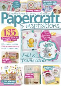 July 31, 2018 issue of PaperCraft Inspirations