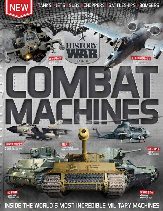 History of War Book of Combat Machines