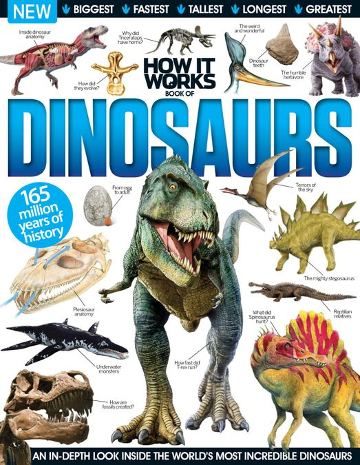 How It Works Book of Dinosaurs