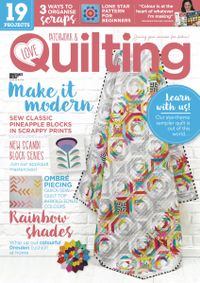 May 01, 2020 issue of Love Patchwork & Quilting