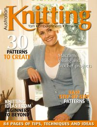June 30, 2018 issue of Australian Knitting