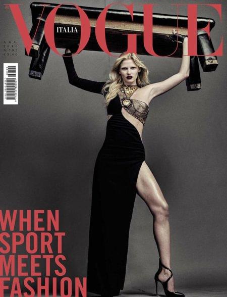 Compra Agosto 2016 - Vogue Italia 0fbef0daed0