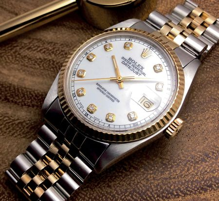 ROLEX TWO-TONE HITS THE HIGH NOTES