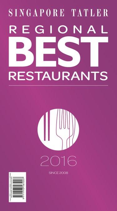 Singapore Tatler Regional Best Restaurants