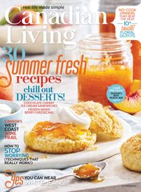 July 31, 2018 issue of Canadian Living