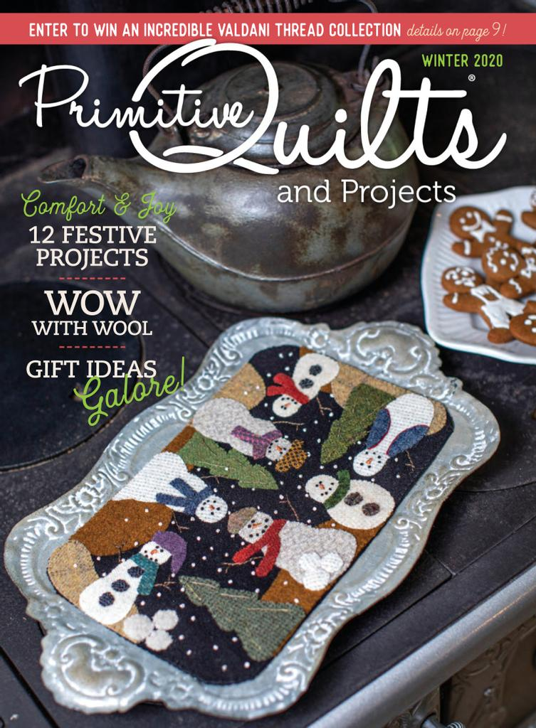 Primitive Quilts and Projects Magazine
