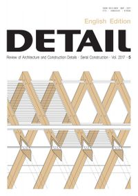 September 01, 2017 issue of DETAIL English edition