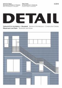May 31, 2019 issue of DETAIL
