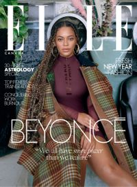 December 31, 2019 issue of Elle Canada