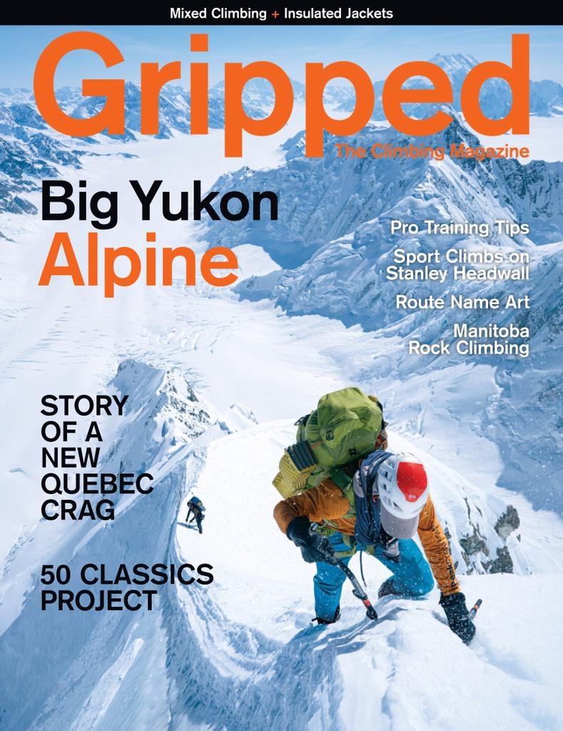 Gripped: The Climbing Magazine - Subscription Subscriptions