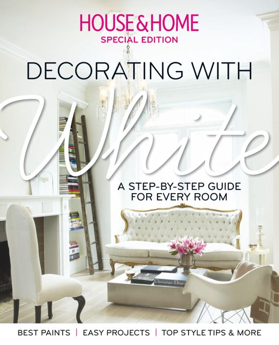 House & Home: Decorating with White