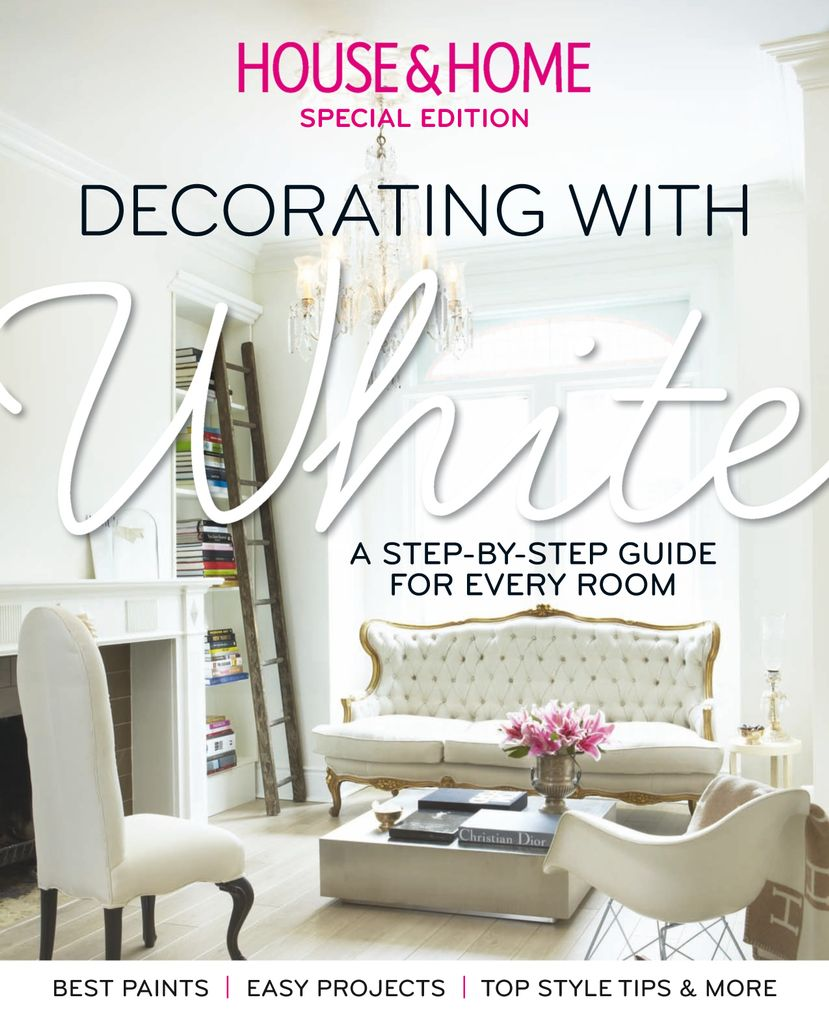 House & Home: Decorating with White - Issue Subscriptions