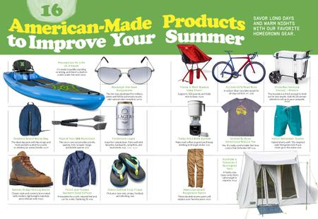 16 American-Made Products to Improve Your Summer