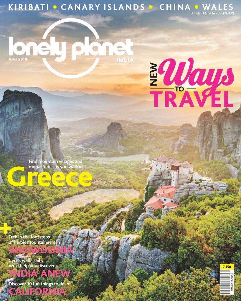 Buy June 2018 Lonely Planet Magazine India