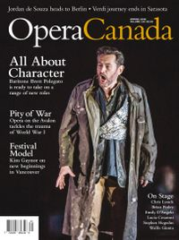 March 01, 2016 issue of Opera Canada