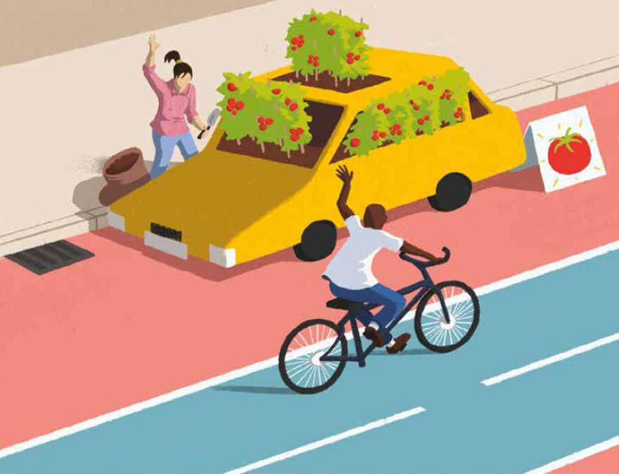 …CITIES BECAME CAR-FREE?